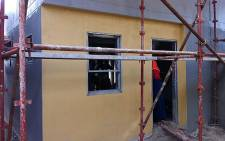 The Philippi housing project is nearing completion. Picture: EWN