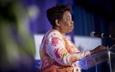FILE: Minister of Basic Education Angie Motshekga. Picture: EWN.