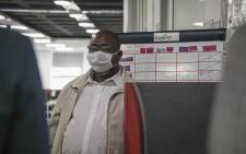 FILE: Labour Minister Thulas Nxesi during a walkabout at the extended UIF call centre in Johannesburg. Picture: Kayleen Morgan/EWN