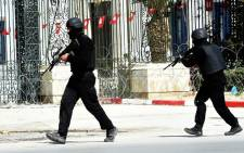 FILE: Tunisian security forces secured the area after gunmen attacked Tunis' famed Bardo Museum on 18 March 2015. Picture: AFP