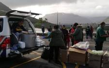 Disaster relief organisation, Gift of the Givers, has been providing aid to several affected communities in theWestern Cape over the last week. Picture: Gift of the Givers.