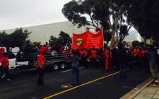 FILE: Samwu has called a strike in Cape Town for later this month. Picture: Shamiela Fisher/EWN.