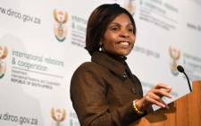 FILE: Minister of International Relations and Cooperation Ms Maite Nkoana-Mashabane. Picture: EWN.