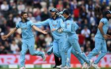 The England cricket team. Picture: www.cricketworldcup.com