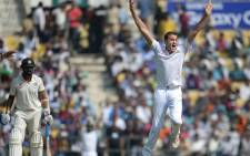 South African cricketer Morne Morkel (R). Picture: Cricket South Africa @OfficialCS