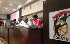 Congres of South African Trade Unions deputy general secretary Bheki Ntshalintshali. Picture: Reinart Toerien/EWN
