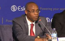 FILE: Former Eskom CEO Tshediso Matona at a media briefing in Johannesburg on 08 December 2014 on the state of South Africa's electricity system. Picture: EWN