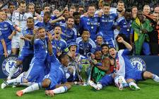 Chelsea FC team which won the UEFA Champions League. Picture: AFP