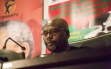 FILE: Cosatu's President Sdumo Dlamini. Picture: Reinart Toerien/EWN