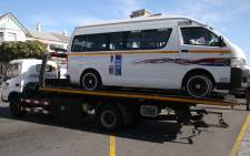 Law enforcement authorities, towed the obstructing vehicles away and arrested defiant drivers. Taxi drivers protest, demanding operational permits in Cape Town. Picture: Bertram Malgas/EWN