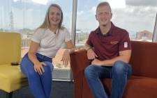 Cato Louw sits down with Maties captain Johan Momsen ahead of the 2019 Varsity Cup Rugby tournament. Picture: Bertram Malgas/EWN