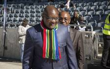 FILE: Gauteng Premiere David Makhura arrives at an event at the Orlando stadium in Soweto. Picture: Reinart Toerien/EWN.