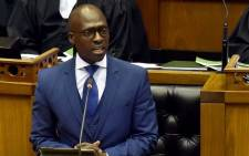 FILE: Finance Minister Malusi Gigaba delivers his maiden Medium Term Budget Policy Statement on 25 October 2017. Picture: GCIS