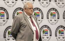 FILE: Former Bosasa executive Angelo Agrizzi on the third day of his testimony at the commission of inquiry into state capture. Picture: Abigail Javier/EWN