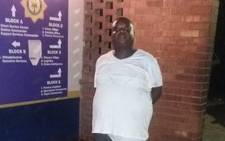 A Tembisa DJ was handcuffed on Sunday night after allegedly assaulted his girlfriend with a spanner. Picture: Twitter/@TashnaAlexander