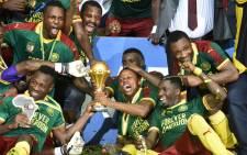 Africa Cup of Nations 2017 winners Cameroon. Picture: AFP