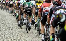 The dreaded cobblestone roads of the Tour de France. Picture: ASO/B.Bade/Tour de France