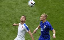 Czech Republic vs Croatia during Euro 2016 on 17 June 2016. Picture: @UEFAEURO.