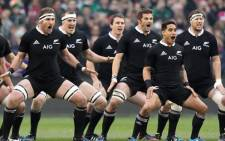 FILE: The defending champions are the first side to book a spot in the Rugby World Cup quarter-finals. Picture: AFP.