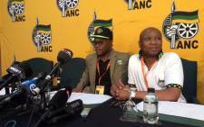 Arts and Culture Minister Nathi Mthethwa outlines how the ANC has been discussing certain issues at its National General Council on Saturday 10 October 2015. Picture: @MyANC via Twitter