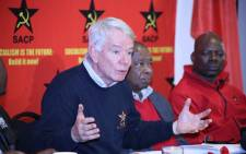 FILE: SACP's first deputy general secretary Jeremy Cronin. Picture: @SACP1921/Twitter