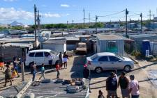 The Du Noon informal settlement in Cape Town. Picture: Kaylynn Palm/EWN