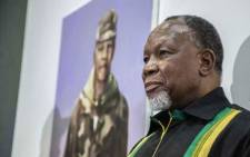 Former President Kgalema Motlanthe visited the ANC Pavillion at the Rand Show at Nasrec on 26 April 2019. Picture: Abigail Javier/EWN