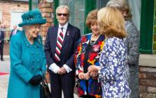 Queen Elizabeth II visited the set of television soap opera Coronation Street on 8 July 2021. Picture: Twitter/@itvcorrie