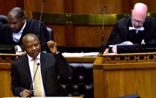Deputy President Mabuza replying to Questions for Oral Reply in the National Assembly, Parliament, Cape Town. Picture: GCIS