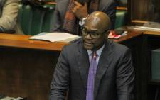 FILE: Sports Minister Nathi Mthethwa tables his department's budget in Parliament on 16 July 2019. Picture: @ArtsCultureSA/Twitter