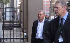 State Prosecutor Gerrie Nel arrives at the High Court in Pretoria ahead of Day 20 of Oscar Pistorius murder trial on 10 April 2014. Picture: Christa van der Walt/EWN.