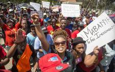 FILE: The 'Fees Must Fall' protests have brought obstacles to access to higher education into sharp focus. Picture: Thomas Holders/EWN.