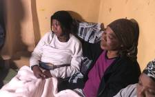 The family of the two siblings who died in Katlehong allegedly from food poisoning. Picture: Thando Kubheka/EWN.