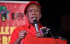 Economic Freedom Fighters (EFF) leader Julius Malema address Polokwane residents as part of the party's manifesto consultation assembly on 24 November 2018. Picture: @EFFSouthAfrica/Twitter.