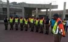 Johannesburg Metro Police Department officials. Picture: @AsktheChiefJMPD/Twitter
