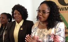 Progressive Women's Movement spokesperson Jacqui Mofokeng believes Oscar Pistorius should have received a longer sentence. Picture: Vumani Mkhize/EWN.