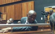 Donald Sebolai at the Palm Ridge Magistrates Court. Picture: Thando Kubheka/EWN.