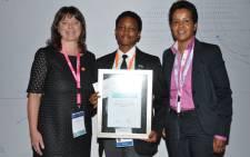 S'nenhlahla Dlamini (C). Picture: Eskom Expo Science.