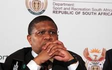 Sport & Recreation Minister Fikile Mbalula. Picture: Taurai Maduna/EWN