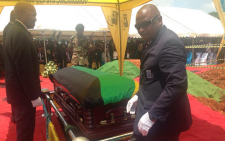 Former police commissioner Jackie Selebi was laid to rest in Pretoria east yesterday. Picture: Mia Lindeque/EWN.
