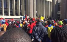 The South African Municipal Workers Union (Samwu) has threatened mass action against municipalities due the South African Local Government Association (Salga) apparently wanting to introduce performance-linked salary increases. Picture: Xolani Koyana/EWN