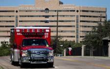 A general view of Texas Health Presbyterian Hospital Dallas is seen where patient Thomas Eric Duncan is being treated for the Ebola virus on 4 October, 2014 in Dallas, Texas. Picture: AFP.