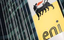 This picture taken on 27 October 2017, shows the headquarter of the Italian oil and gas company Eni in San Donato Milanese, near Milan. Picture: AFP