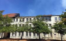 The top floor of the BComm/Accounting Building at the Stellenbosch University completely destroyed by fire on 22 February 2015. Picture: Natalie Malgas/EWN