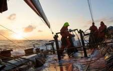 Puma Ocean Racing in the Pacific - Image curtosy of www.volvooceanrace.org