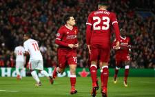 Liverpool's Philippe Coutinho (#10) celebrates a goal during a UEFA Champions League match at Anfield, England on 6 December 2017. Picture: @LFC/Twitter