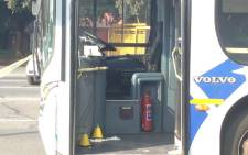 A Metrobus driver was shot and wounded after robbers attacked the vehicle in the early hours of 1 April 2015 in Newlands. Picture: Govan Whittles/EWN. Picture: Govan Whittles/EWN.