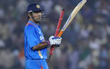 Indian captain Mahendra Singh Dhoni. Picture: AFP