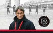 The new Orlando Pirates coach Muhsin Ertugral. Picture: Twitter @Orlando_Pirates.