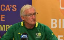 Bafana Bafana coach Gordon Igesund. Picture: Facebook.